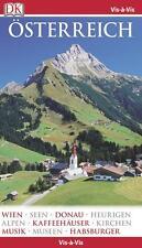 Österreich Wien 2014-2015 ungelesen Alpen Reiseführer Vis a Vis Dk Kindersley