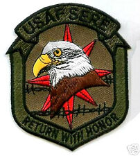 USAF AFSOC STS SERE RETURN WITH HONOR TRAINING PROGRAM FLASH INSIGNIA PATCH