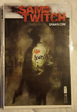 Sam and Twitch #10 Signed Brian Michael Bendis Image Comics NM Uncertified