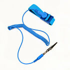 Safety New Blue 1.8m Anti Static ESD Adjustable Wrist Strap Discharge Band