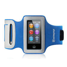 Shocksock Blue Reflective Armband Sports Gym Jogging Case for iPod Nano 7
