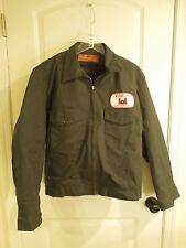 Red Kap Lined Men's Work Jacket Uniform Walter Reed Army Medical Center 46 Reg