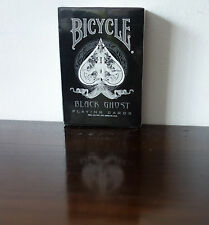Bicycle Black Ghost 1st Edition Playing Cards Ellusionist Rare