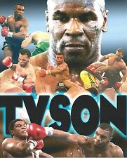 MIKE TYSON 8X10 PHOTO BOXING PICTURE COLLAGE