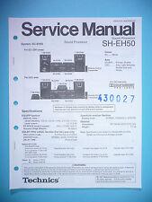Service Manual-Istruzioni per Technics sh-eh50, ORIGINALE