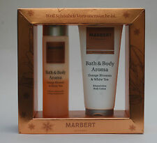 MARBERT Bath & Body Aroma Lotion 200ml Badeschaum 200ml Set NEU
