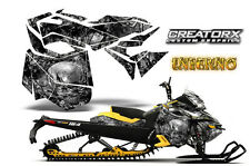 SKI-DOO REV XM SUMMIT SNOWMOBILE SLED GRAPHICS KIT WRAP CREATORX INFERNO SY