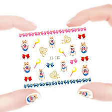 Nail Art Manicure Water Transfer Decal Stickers Sailor Moon YB342