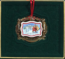 THE WHITE HOUSE HISTORICAL ASSOCIATION ANNUAL 2011 CHRISTMAS ORNAMENT NEW IN BOX