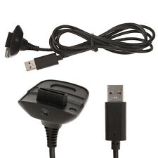 Black USB Charging Cable Cord USB Charger For Xbox 360 Wireless Game Controller