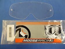 BIN10:D 06-93 15-10-10 MOOSE RACING REPLACEMENT LENS CLEAR FOR OAKLEY O-FRAME