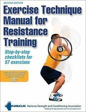 Exercise Technique Manual for Resistance Training by National Strength and Cond…