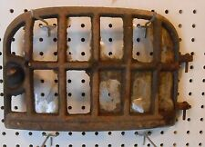 ANTIQUE CAST IRON WOOD STOVE DOOR 8.25 TALL x 12.25 WIDE NO NAME STEAM PUNK