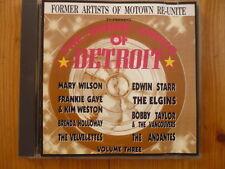 The Dance Sound of Detroit/Edwin Starr Bobby Taylor Mary Wilson Velvelettes