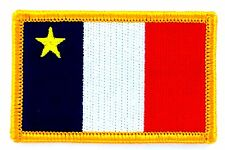 Ecusson Brodé PATCH drapeau ACADIE ACADIA ACADIEN CANADA FLAG PATCH EMBROIDERED