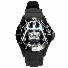 Reloj de Pulsera nuevo * Hot Darth Vader Star Wars Black Redondo Deporte Regalo