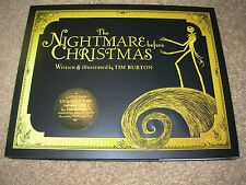 THE NIGHTMARE BEFORE CHRISTMAS Hardcover Book + DVD Barnes & Noble Exclusive