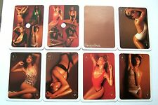 PIN UP SUPERMODELS 6 WIDE DECKS VINTAGE PLAYING CARDS ANDREW HOBBS PHOTOS
