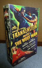 "Sideshow Universal Monsters 12"" figure Frankenstein Meets the Wolf-Man NIP"