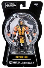 "MORTAL KOMBAT X - Scorpion 6"" Action Figure (Mezco) #NEW"