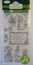Recollections Clear Rubber Stamps /   New For Holidays  NIP