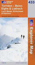 OS Explorer Map 433: Torridon - Beinn Eighe & Liathach, Loch Maree, Kinlochewe