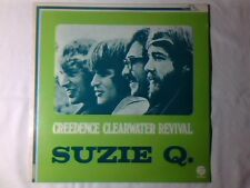 CREEDENCE CLEARWATER REVIVAL Suzie Q. lp ITALY UNIQUE TITLE AND PS JOHN FOGERTY