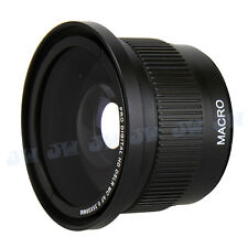 58MM 0.35X Fisheye & Macro Lens for Canon EOS 700D 650D 600D 550D 500D 18-55MM