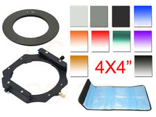 100mm ND2+ND4+ND8+GND Gradual filter+72mm ring+holder+Case For Cokin Z LEE