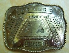 D C LITTLE BRITCHES RODEO RUNNER UP ALL AROUND JR COWGIRL POLE/ BARREL 1995