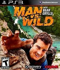Man vs Wild With Bear Grylls (Sony PlayStation 3, 2011) PS3 Complete