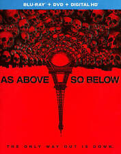 AS ABOVE SO BELOW (Blu-ray/DVD, 2014, 2-Disc Set) NEW
