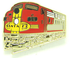Railroad Hat-Lapel Pin/Tac  - Santa Fe Diesel locomotive (ATSF) #1660- Free Ship