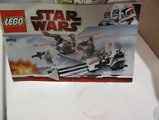 Star Wars Lego Snowtrooper Battle Pack INSTRUCTIONS ONLY
