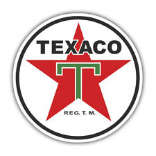 TEXACO sticker vintage  85mm x 85mm reproduction