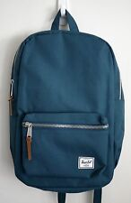 HERSCHEL SUPPLY CO SETTLEMENT MID BACKPACK TEAL MSRP $60- BRAND NEW w/TAG!