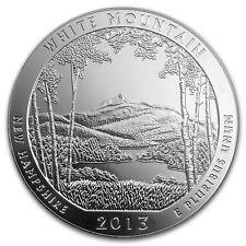 2013 5 oz Silver ATB White Mountain National Park, NH - America the Beautiful