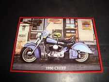 Indian Motorcycle 1992 Promo Trading Card NM Condition Promotional Card #10