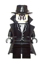Custom Minifigure Rorschach Watchmen Made Using Lego & Custom Parts