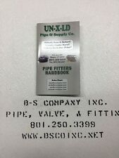 Pipe Fitter Handbook, Pocket Size (75 Available) NEW!