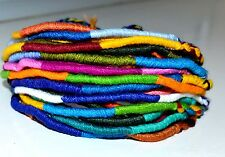 Friendship Bracelets Wholesale Bulk 15 Thin Woven Cotton Unisex Wristband Hippy