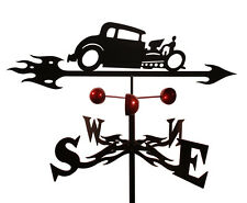 Hot Rod   Weathervane (Roof Mounting Included)