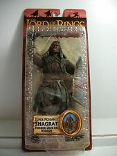 Lord of the Rings The Two Towers Super Poseable SHAGRAT Mordor Uruk-Hai Warrior