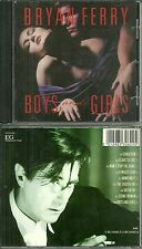 CD - BRYAN FERRY ( ROXY MUSIC ) : BOYS AND GIRLS / SLAVE TO LOVE