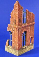 Verlinden 1/35 Ruined Corner Section of European / Colonial Brick House 2794
