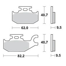 Bombardier DS650 New Moto-Master FRONT Brake Pads Can-Am 350 400 500 650 800