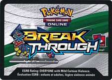 20x Pokemon XY BREAK THROUGH Code Cards Via Email/ Online Trade TCG Breakthrough