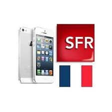 Désimlockage, déblocage, Factory unlock IPHONE SFR CLEAN IMEI FAST
