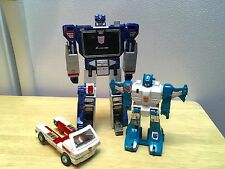 G1 Transformers PARTS LOT: Soundwave, Twin Twist, Rachet (Hasbro/Takara, 1984)