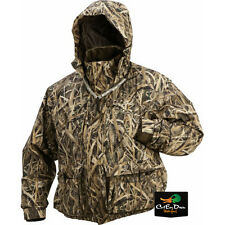 DRAKE WATERFOWL MST STRATA SYSTEMS COAT JACKET SHADOW GRASS BLADES CAMO LARGE